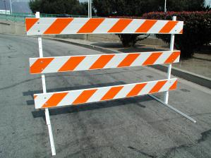 Traffic Control Barricade Sign Holders Traffic Safety
