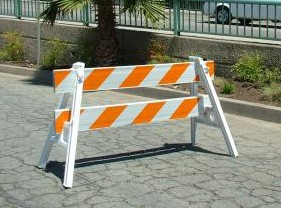 Parade Style Barricades
