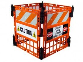 TD1100 WORKGARD Construction Barrier System
