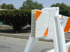 TD4000 Plastic Barricade Boards/Rails