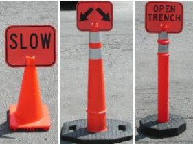 TD12100 EZ-CLIP Traffic Signs and Sign Blanks